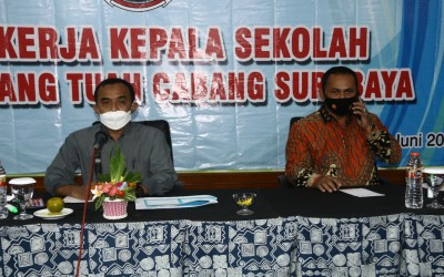Raker Yayasan Hang Tuah Cabang Surabaya Sasar Kesejahteraan Guru