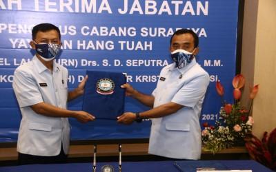 Letkol Ambar Kristiyanto Resmi Menjadi Nahkoda Yayasan Hang Tuah Cabang Surabaya